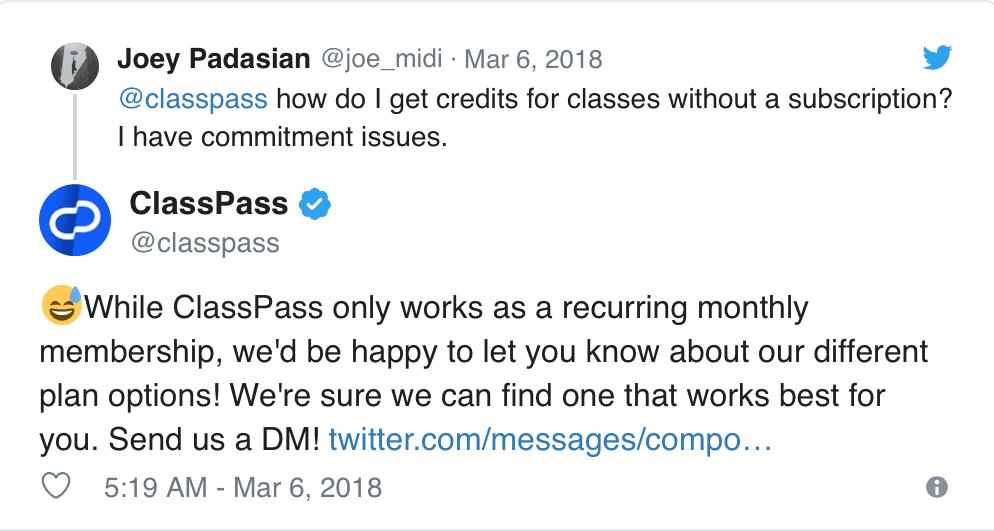 classpass-customer-support-twitter