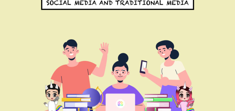 Social media vs traditional media – the yin and yang