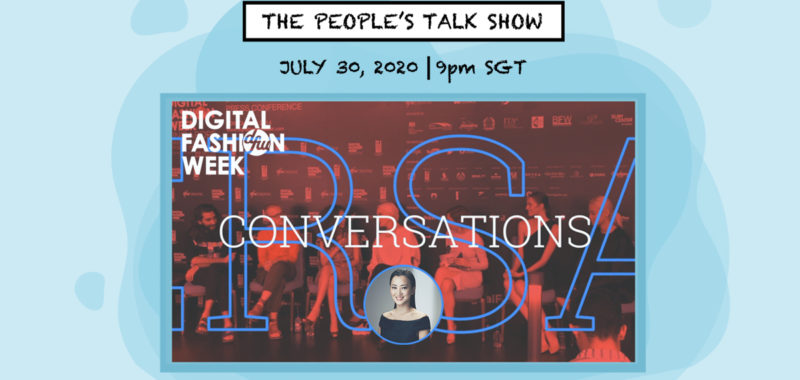 Digital Fashion Week Conversations with Charina Widjaja