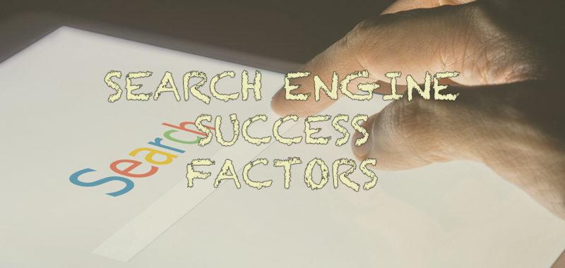 Factors for SEO success