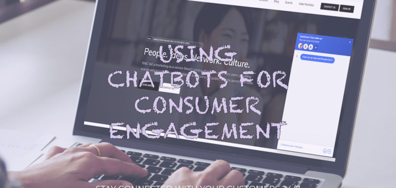 Using chatbots for customer engagement